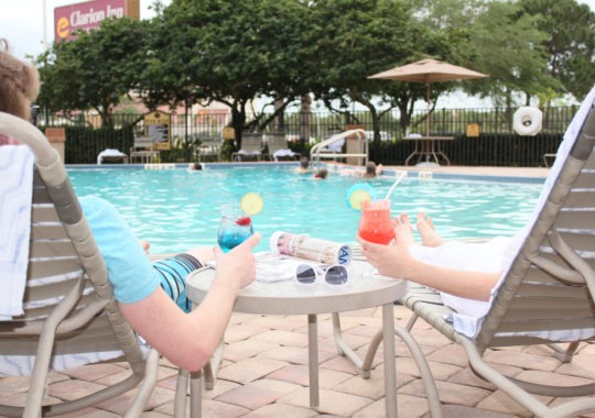 Stay and Play at the Clarion Inn Lake Buena Vista!