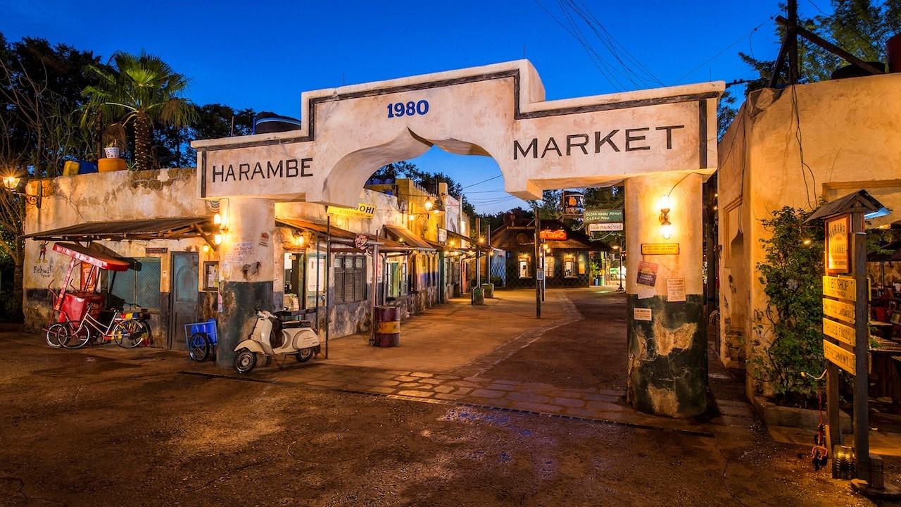 Circle of Flavors Harambe at Night Coming to Disney's Animal Kingdom