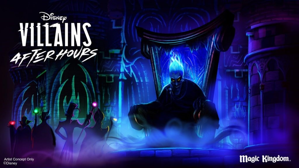 Disney Villains Take Center Stage at Select Disney After Hours Nights Events at Magic Kingdom Park
