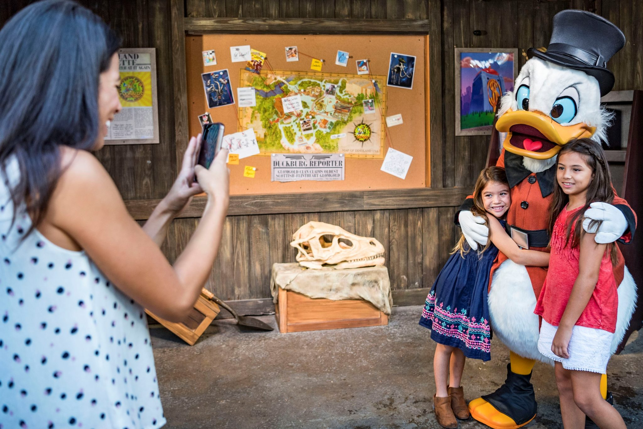 Donald's Dino-Bash! Brings Dino-tastic Energy to Disney's Animal Kingdom