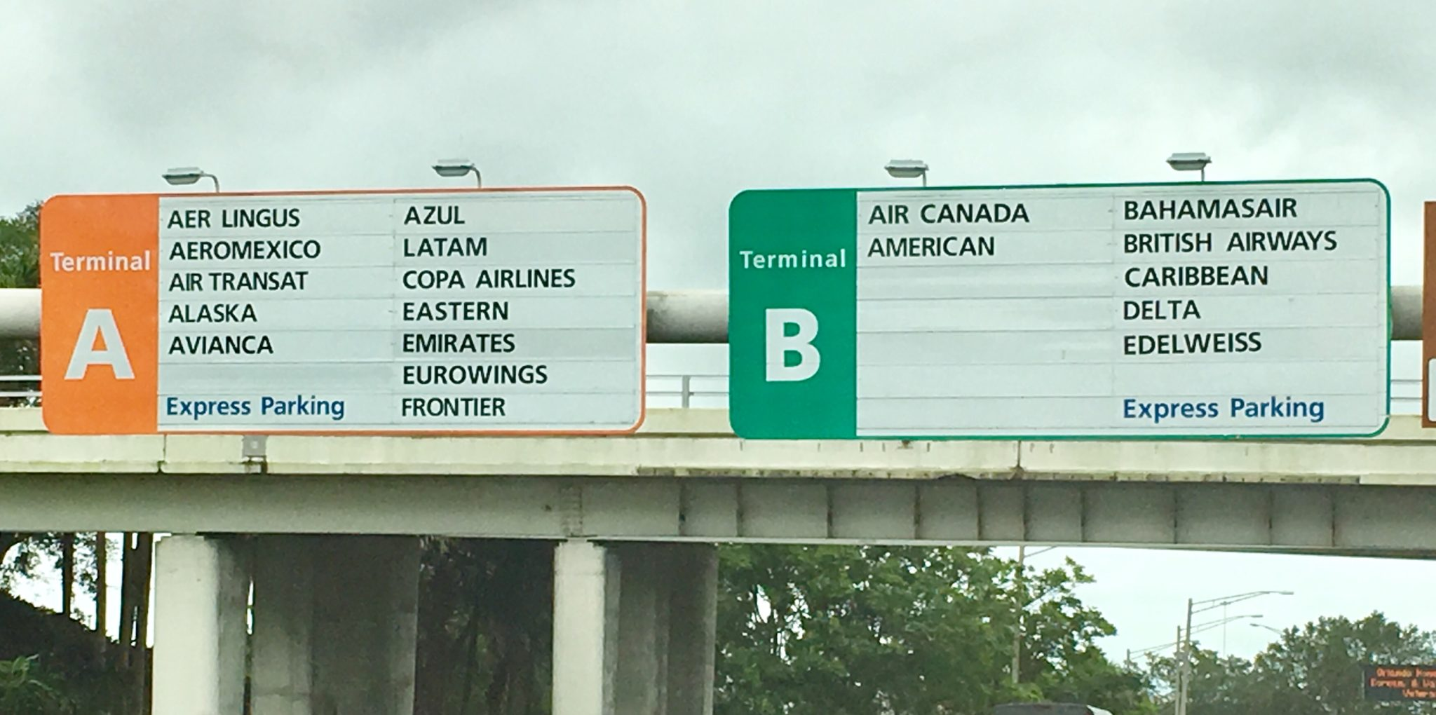 List of Airlines at Orlando Airport