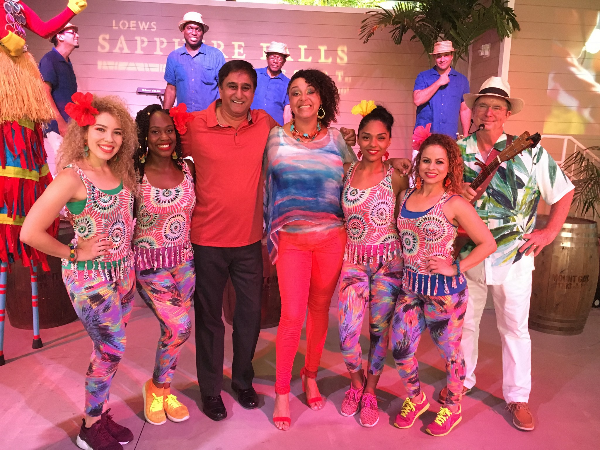 Caribbean Carnaval at Loews hotel