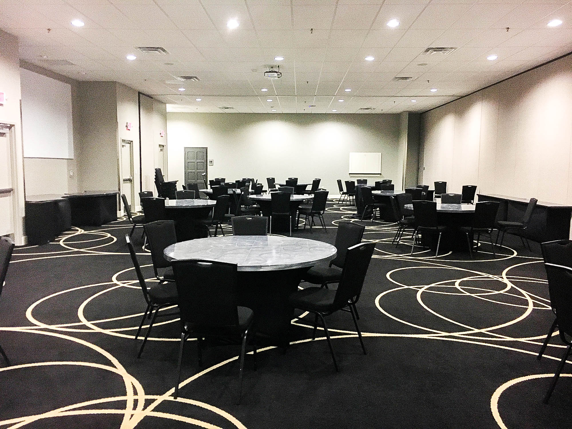 Event rooms at Andretti's in Orlando Florida
