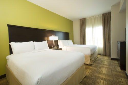 Staybridge Suites Orlando near SeaWorld bedroom
