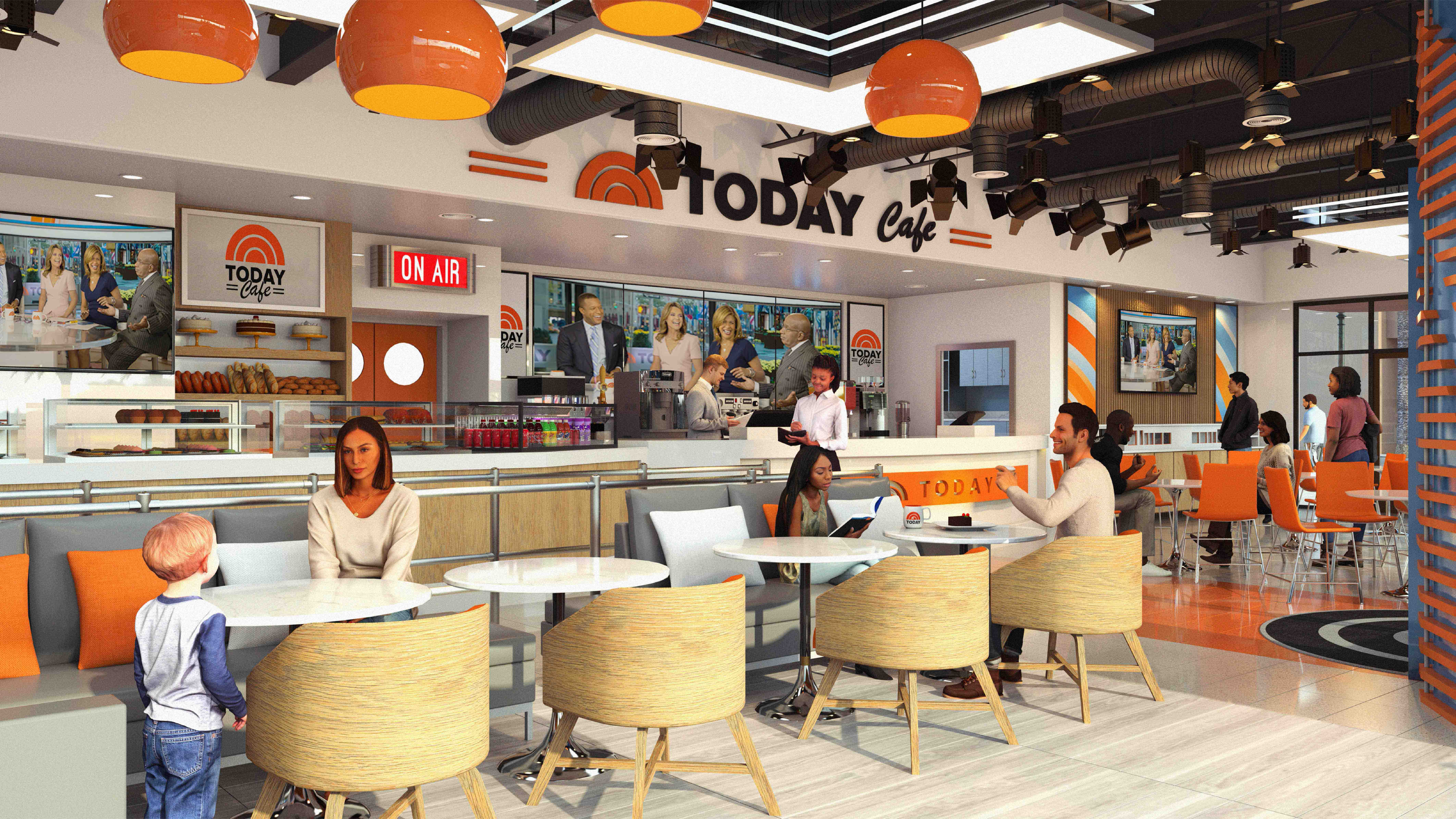 The TODAY Cafe will soon make its way to Universal Orlando Resor