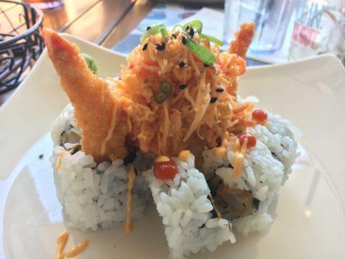 sushi at splitsville in disney springs