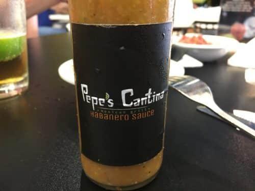 pepe's cantina restaurant hot sauce