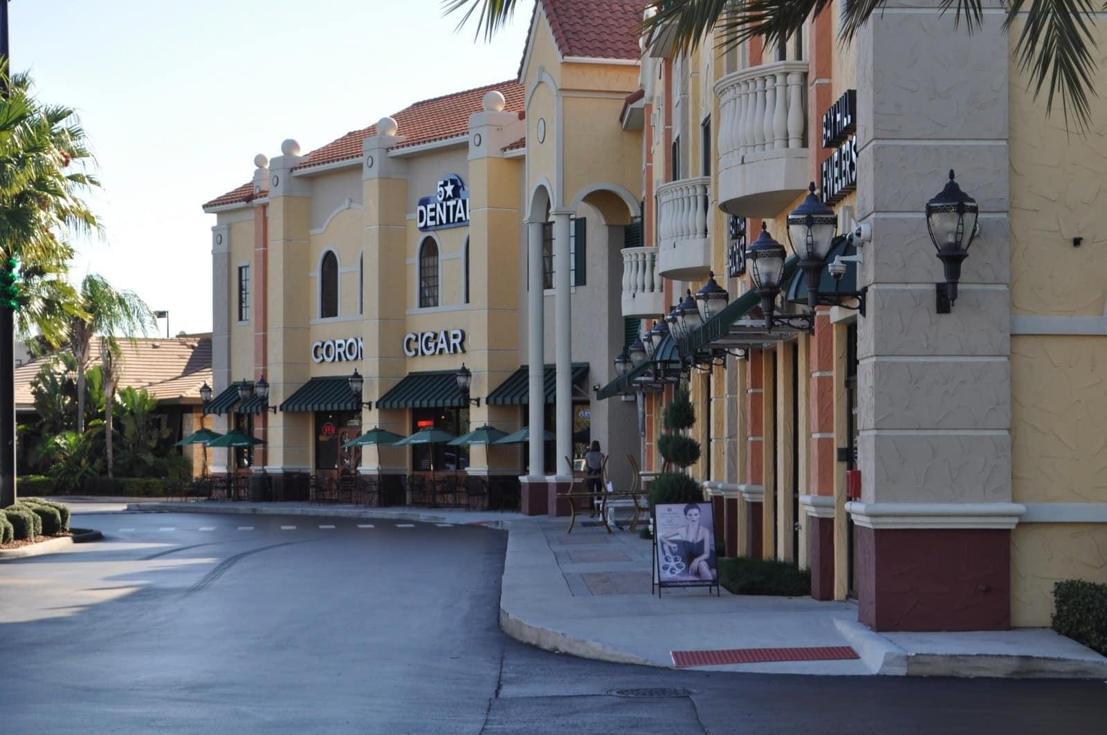 Restaurant Row Sandlake Road Orlando